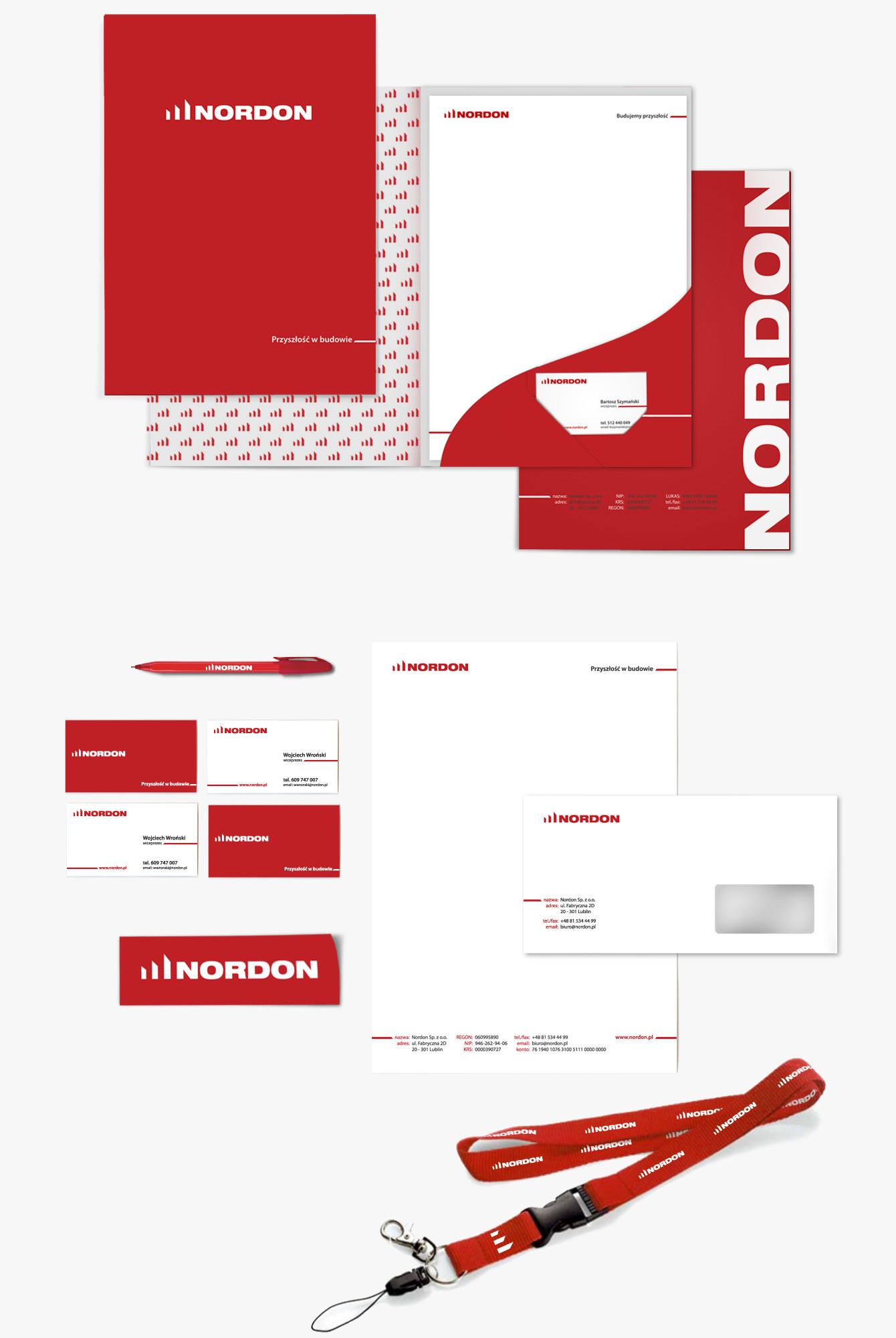 Nordon - Identyfikacja wizualna