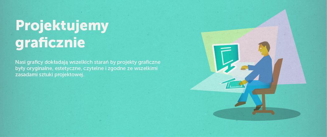 Seria ilustracji oraz ikon dla firmy lando websites